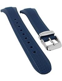 Ersatzband Uhrenarmband Kunststoff Band dunkelblau passend zu Calypso K6063/2 K6063/alle