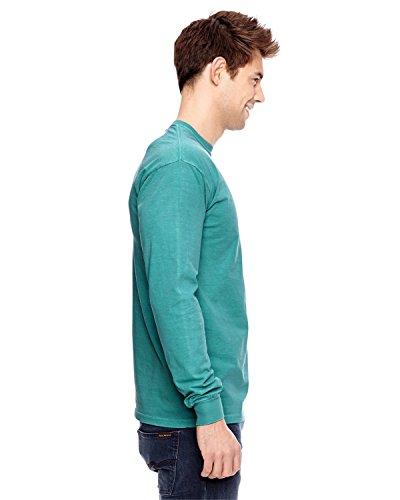 Treask 6.1 Oz. Long-Sleeve Pocket T-Shirt (C4410) 2Seafoam