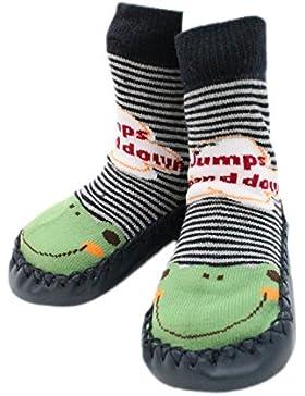 Pantofole scarpe calze Moccassini bambino per interni RANA ANTISCIVOLO.