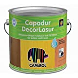 caparol capadur decorlasur wei holzlasur 5 liter k che haushalt. Black Bedroom Furniture Sets. Home Design Ideas