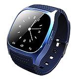 Wearable Bluetooth Smart Watch,YALIMAMA M26 Smart Health Pedometer Sleep Monitor Alert Wrist Watch Phone Uwatch with SIM Card Camera Slot for Android iOS