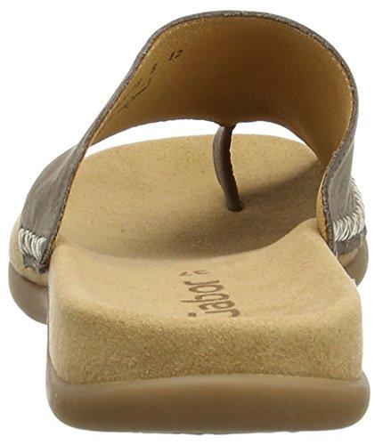Gabor Shoes - Gabor, infradito  da donna grigio(Grau (Fumo))