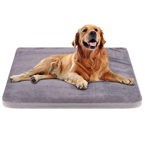 Großes Hundebett Kastenmatte Hundematte waschbar Anti-Rutsch-Haustier-Betten Matratze Zwingerpolster - Nachricht Matratze