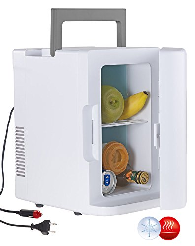 Rosenstein & Söhne Reisekühlschrank: Mobiler Mini-Kühlschrank mit Wärmefunktion, 12 & 230 V, 8 Liter (Camping Kühlschrank)