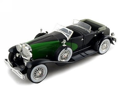 1934-duesenberg-model-j-diecast-model-convt-1-32-black-by-signature-models