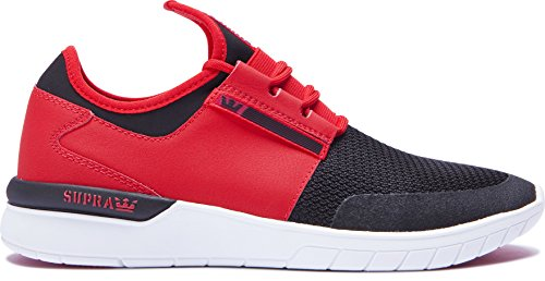 Supra Flow Run Herren Sportschuhe (Probe) – Rot, Rot, UK 8/EU 42
