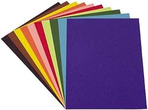 papier dessin couleur assorti 21x29 7 120g paquet de 100 jouet jeux et jouets. Black Bedroom Furniture Sets. Home Design Ideas