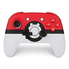 Wireless Officially Licensed Enhanced Controller for Nintendo Switch and Nintendo Switch Lite - Poké Ball