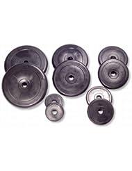 SportPlus Juego de Mancuernas Ajustables - Rellenas de Cemento, Set de Pesas Ideal para tu