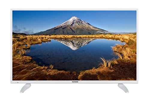 Telefunken XF43E411-W 109 cm (43 Zoll) Fernseher (Full HD, Smart TV, Triple Tuner) weiß