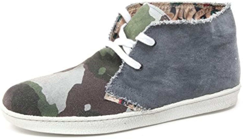 B4018 polacchino uomo LECROWN DESERT BOOT scarpa sneaker shoe man