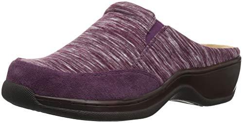 Softwalk, Damen Clogs & Pantoletten, Violett - burgunderfarben - Größe: 41 EU