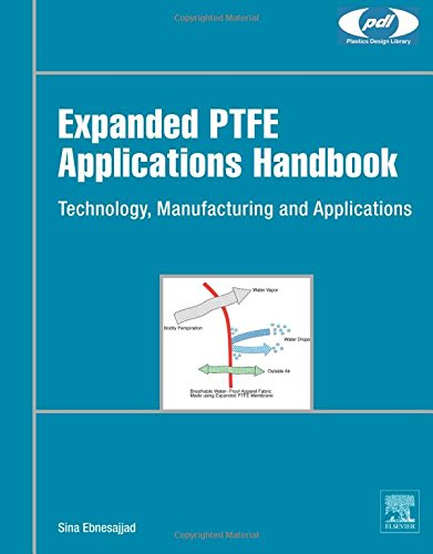 Expanded PTFE Applications Handbook: Technology, Manufacturing and Applications (Plastics Design Library)
