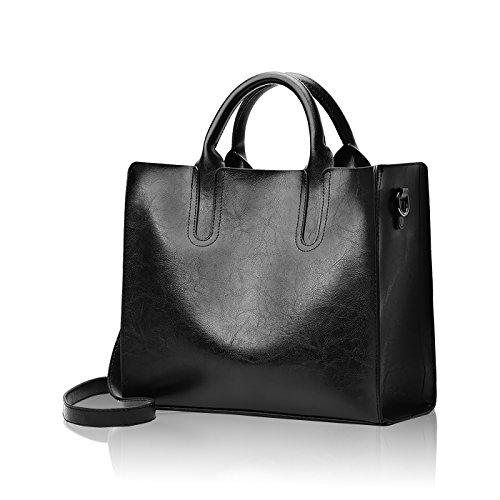 Sdinaz Nuove borse da donna moda retrò borsa a spalla Messenger bag PU portafoglio