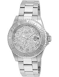 Invicta Angel 22706 - Reloj de pulsera Cuarzo Mujer correa de Acero inoxidable Plateado
