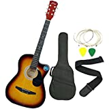 Jixing Acoustic Guitar with Combo, Sunburst