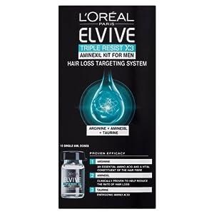 L'Oreal Elvive Triple Resist Aminexil Kit 6 ml - Pack of 10