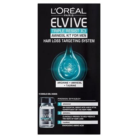 L'Oreal Elvive Triple Resist Aminexil Kit 6 ml - Pack