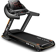 SKY LAND Automatic Foldable Treadmill with Bluetooth Speaker ,5.5 HP Peak Motor for Home Use, Auto Incline,130