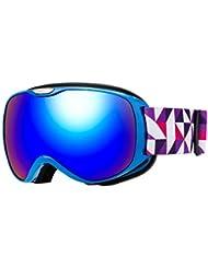 bedb0ba3bd4 Issyzone Snow Gafas Esquí Mascara Nieve Antiniebla con Protección UV400  para Niños Snowboard Doble Lentes Esférico