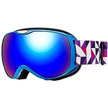 9533ead518e Issyzone Snow Gafas Esquí Mascara Nieve Antiniebla con Protección UV400 para  Niños Snowboard Doble Lentes Esférico