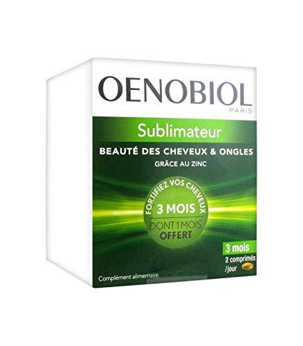 Schönheit Bad Seifen (Oenobiol Sublimateur Schönheit der Haare & Nägel, 180 Tabletten, 1 Monat gratis)