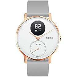 Withings / Nokia Steel HR Rose Gold Hybrid Smartwatch - Armbanduhr mit Aktivitäts & Herzfrequenzfunktion