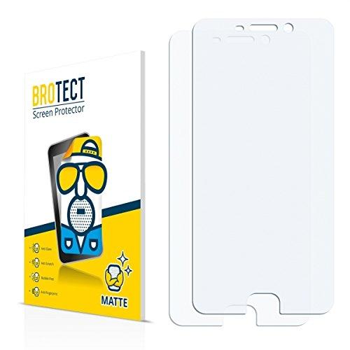 2X BROTECT Matt Bildschirmschutz Schutzfolie für Oppo F1 Plus (matt - entspiegelt, Kratzfest, schmutzabweisend)