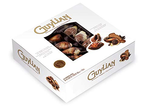GuyLian Original Praline Seashells Chocolates in Double Layered Gift Box 500 g