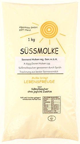 Original Allgäuer Naturprodukte Süssmolke 1000g - Naturprodukt aus dem Allgäu - Molke aus den Bergen - Molkepulver