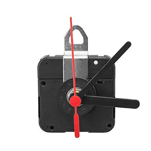 TuToy Diy Quarz Uhr Uhr Uhr Uhr Mechanismus Kit Stunde Minute Sekunde Mit Metall Aufhänger