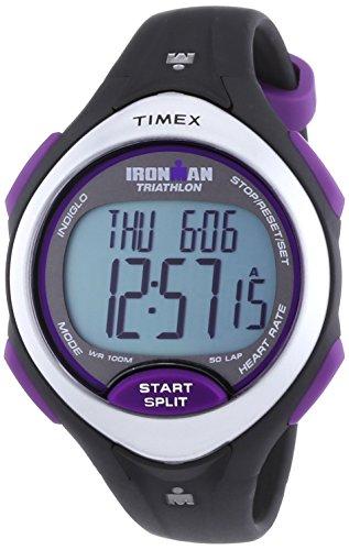 Timex T5K723 – Reloj digital para mujer de plástico Resistente al agua