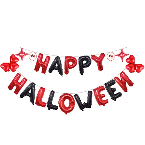 Lazzboy Halloween Party Supplies Festliche Atmosphäre Dekoration Kit#19080903#(B,M)