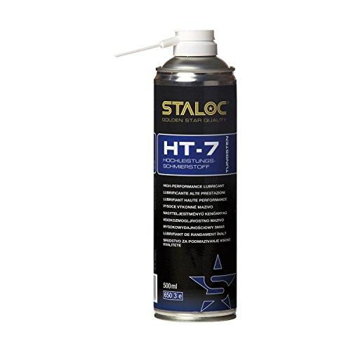 STALOC Hochleistungs-Schmierstoff HT-7 | Sprüh-Öl | Tungsten | mit exzellenter Druck- und Temperaturbeständigkeit | 500 - Teflon-lager