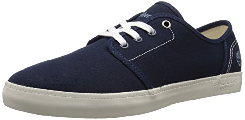 Timberland Newport Bay_Newport Bay Canvas Plain, Sneakers Basses Homme Bleu (Navy)