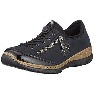 2017 Sommer Rieker Damen Schuhe Slipper pazifik