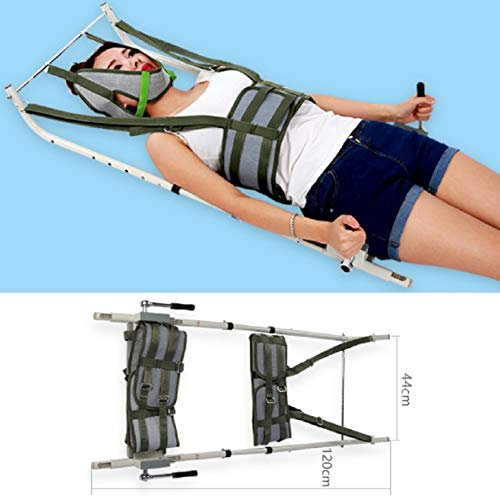 Terapia cervicale colonna vertebrale lombare, dispositivo di estensione della barella cervicale per uso domiciliare per la terapia fisica Acido della spalla,distensione collo e spondilosi lombare