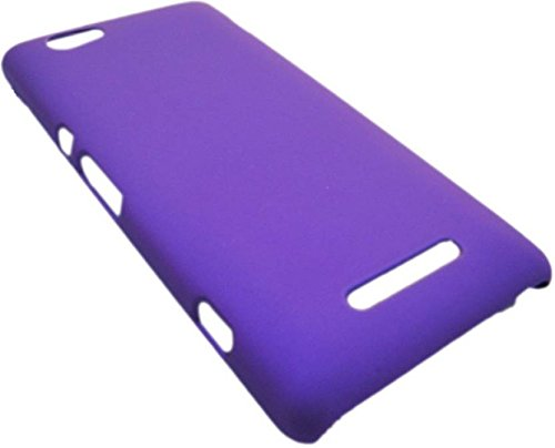 Kartik Matte Finish Hard Back Case Cover For Sony Xperia M Purple  available at amazon for Rs.199