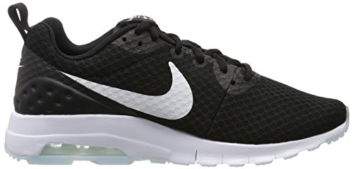 Nike  Air Max Motion Lw, Gymnastique homme Blanco (Black / White)