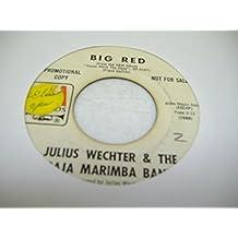 JULIUS WECHTER & THE BAJA MARIMBA BAND 45 RPM Big Red / Peru '68