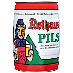 Rothaus Pils 5 L partido de la caja 5,1% en volumen