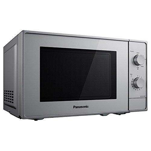 Panasonic nn-e22jmmepg Horno a microondas, 800W, 20L, 46Decibel, Plata