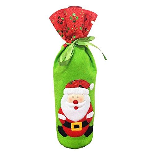UU19EE Encantador 1pc Decoraciones Navidad Casa Santa