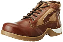 Knotty Derby Mens Goyle Ankle Tan Trekking and Hiking Boots - 8 UK/India (42 EU)