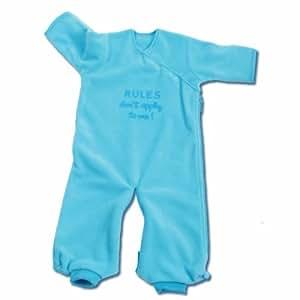 Baby Boum Funny Fleece Sleeping Bag 1.7 tog in Azur blue 0-9 months
