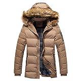 Manadlian Winterjacke Herren Mantel Männer Winter Tarnen Bluse Verdickender Mantel Outwear Bluse Übergröße
