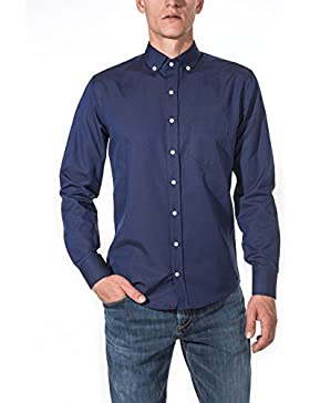 [Sponsorizzato]Vegea Camicia Uomo Slim Fit Oxford