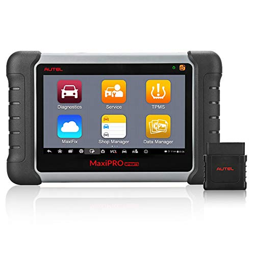 Autel OBD2 Diagnosegerät Scanner MaxiPRO MP808TS Diagnostic Tool kompletter TPMS Service und diagnostische Funktionen mit WiFi und Bluetooth