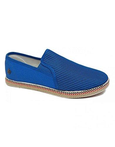 Sélection Izi - Espadrille habillée bleu Bleu