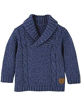 Vertbaudet Pullover für Baby Jungen, Schalkragen